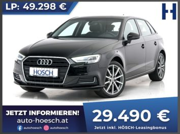 Audi A3 Sportback 35 TDI Design Aut. bei Autohaus Hösch GmbH in