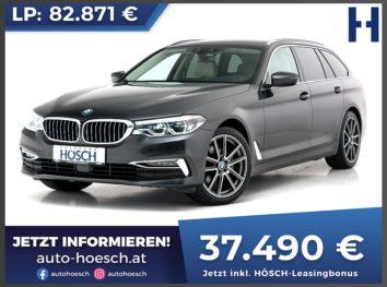 BMW 520d Touring Luxury Line Aut. bei Autohaus Hösch GmbH in