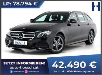 Mercedes-Benz E 300d T AMG Line Aut. bei Autohaus Hösch GmbH in