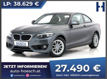 BMW 218i Coupe Advantage Aut. bei Autohaus Hösch GmbH in