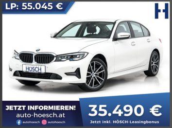 BMW 320d xDrive Advantage Aut. bei Autohaus Hösch GmbH in