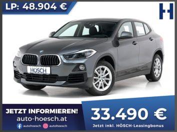 BMW X2 xDrive 20i Advantage Aut. bei Autohaus Hösch GmbH in