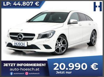 Mercedes-Benz CLA 200 CDI Shooting Brake Urban-Line Aut. bei Autohaus Hösch GmbH in