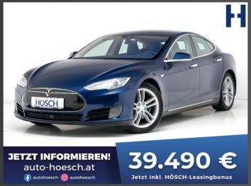 Tesla Model S 70D AWD Aut. inkl. Supercharger! bei Autohaus Hösch GmbH in