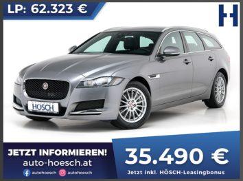 Jaguar XF Sportbrake 20d E-Performance Prestige Aut. bei Autohaus Hösch GmbH in