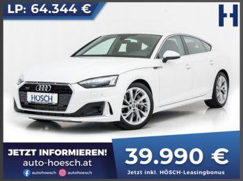 Audi A5 Sportback 45 TFSI quattro advanced Aut. bei Autohaus Hösch GmbH in