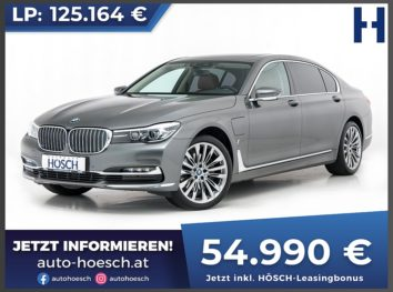 BMW 740Le xDrive iPerformance Aut. bei Autohaus Hösch GmbH in