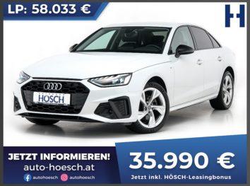 Audi A4 35 TDI S-Line Aut. bei Autohaus Hösch GmbH in