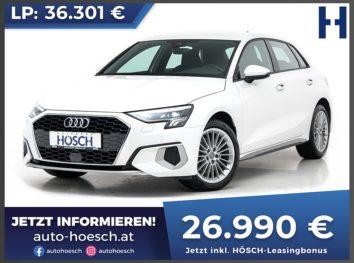 Audi A3 Sportback 35 TFSI Advanced bei Autohaus Hösch GmbH in