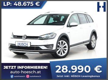 VW Golf Alltrack 2.0 TDI 4Motion Aut. bei Autohaus Hösch GmbH in