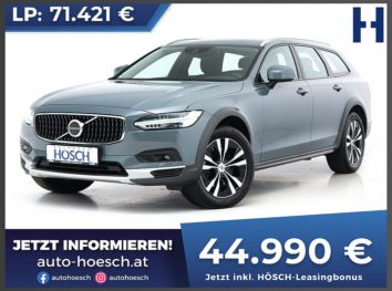 Volvo V90 D4 AWD Cross Country Pro Aut. bei Autohaus Hösch GmbH in