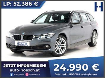 BMW 320d Touring Advantage Aut. bei Autohaus Hösch GmbH in