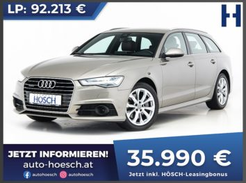 Audi A6 Avant 3.0 TDI quattro Aut. bei Autohaus Hösch GmbH in