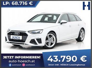 Audi A4 Avant 40 TDI quattro S-Line Aut. bei Autohaus Hösch GmbH in