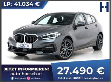 BMW 118d Advantage Aut. bei Autohaus Hösch GmbH in