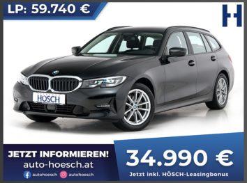 BMW 320d xDrive Touring Advantage Aut. bei Autohaus Hösch GmbH in