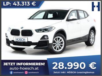 BMW X2 sDrive 18d Advantage bei Autohaus Hösch GmbH in