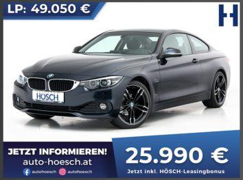 BMW 420i Coupe Advantage Aut. bei Autohaus Hösch GmbH in