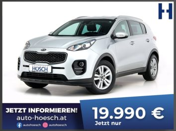 KIA Sportage 1.7 CRDi Österreich-Edition Aut. bei Autohaus Hösch GmbH in