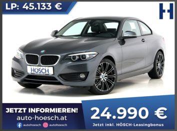 BMW 220d Coupe Advantage Aut. bei Autohaus Hösch GmbH in