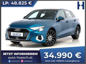 Audi A3 Sportback 35 TDI Advanced Aut. bei Autohaus Hösch GmbH in