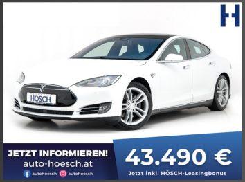 Tesla Model S 85 D AWD Aut. inkl. Supercharger! bei Autohaus Hösch GmbH in
