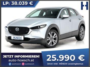Mazda CX-30 Skyaktiv D116 Comfort+ Aut. inkl. Premium-Paket bei Autohaus Hösch GmbH in