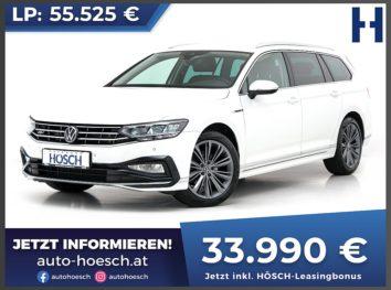 VW Passat Variant Elegance 2.0 TDI R-Line Aut. bei Autohaus Hösch GmbH in