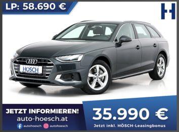 Audi A4 Avant 40 TDI Advanced Aut. bei Autohaus Hösch GmbH in