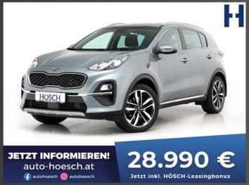 KIA Sportage CRDi Mild-Hybrid Silber Aut. bei Autohaus Hösch GmbH in
