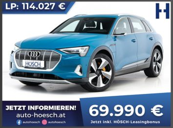 Audi e-tron 55 quattro Edition One Aut. bei Autohaus Hösch GmbH in