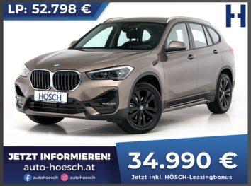 BMW X1 xDrive 18d Sport Line bei Autohaus Hösch GmbH in