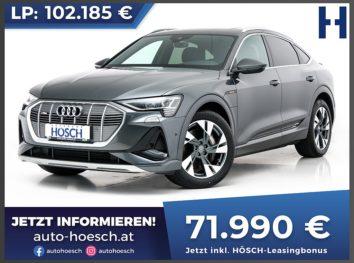 Audi e-tron Sportback 50 quattro S-Line Aut. bei Autohaus Hösch GmbH in