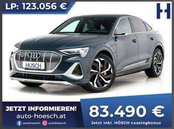 Audi e-tron Sportback 55 quattro S-Line Edition One Aut. bei Autohaus Hösch GmbH in
