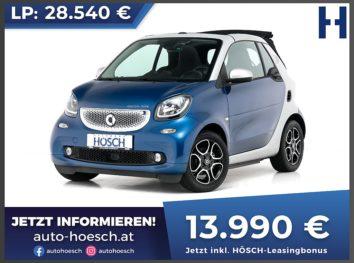 Smart Fortwo EQ Cabrio passion Aut. bei Autohaus Hösch GmbH in