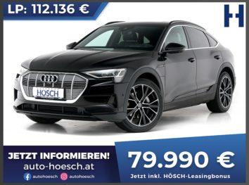 Audi e-tron Sportback 55 quattro Aut. bei Autohaus Hösch GmbH in