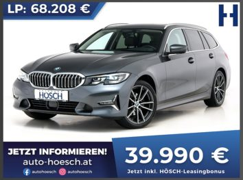 BMW 320d xDrive Touring Luxury Line Aut. bei Autohaus Hösch GmbH in