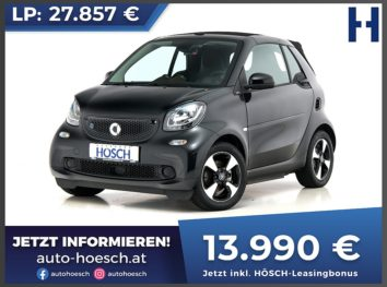 Smart Fortwo EQ Cabrio perfect Aut. bei Autohaus Hösch GmbH in