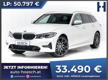 BMW 318d Touring Sport Line bei Autohaus Hösch GmbH in