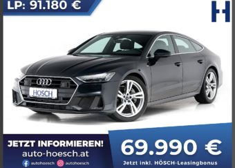 Audi A7 Sportback 45 TFSI 2x S-line Aut. bei Autohaus Hösch GmbH in