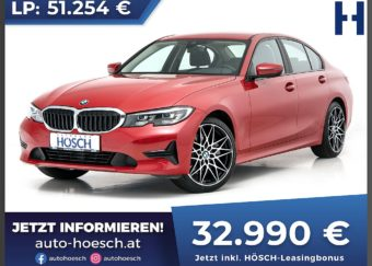 BMW 330i Advantage Aut. bei Autohaus Hösch GmbH in